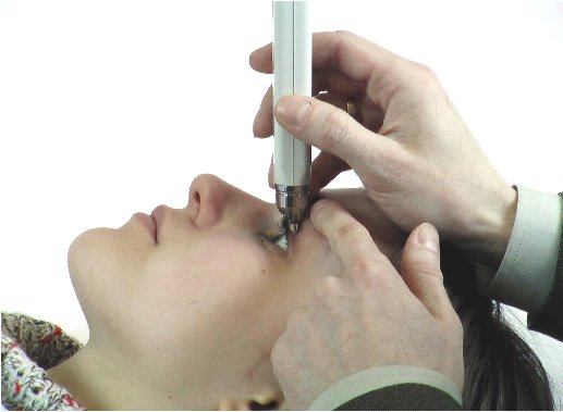 This is a tonometer